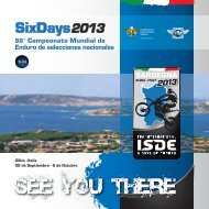 SixDays2013 - ISDE 2013 The official website of the International ...