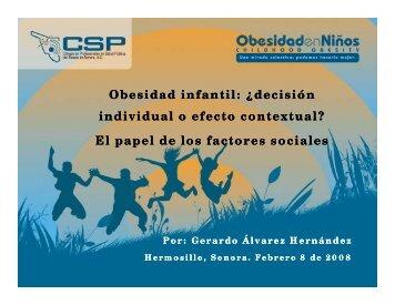 Los Factores Sociales - Colegio de Profesionales en Salud Pública ...