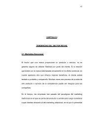 45 CAPÍTULO 4 TENDENCIAS DEL SECTOR RETAIL ... - Cybertesis