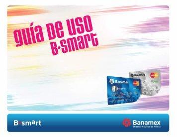 Guía de B•smart First - Banamex.com