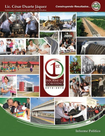 Informe Político (4.5 MB) - Gobierno del Estado de Chihuahua