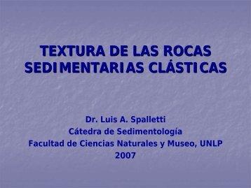 Textura de Rocas Clásticas - Facultad de Ciencias Naturales y Museo