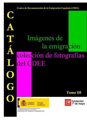 colección de fotografías del CDEE Imágenes de la emigración: