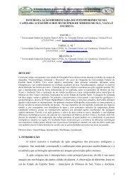 estudo da ação diferenciada do intemperismo no sul - LABOGEF