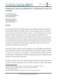 NEUROCIENCIA Y EDUCACIÓN DIFERENCIADA… - XII Congreso ...