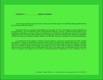 """CAPITULO 1. MARCO TEORICO. """"La primera capital del reino ... - LEU"""