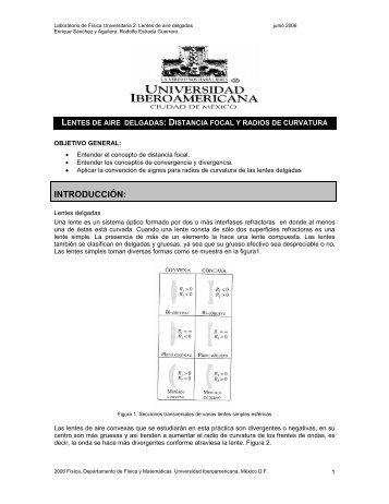 INTRODUCCIÓN: - Departamento de Física y Matemáticas ...