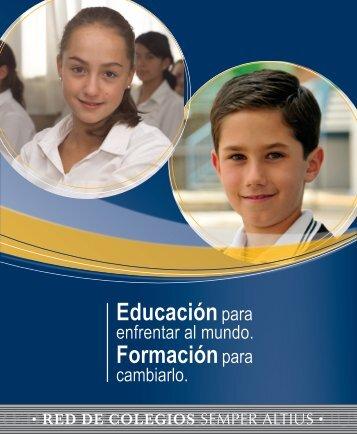 Educación Diferenciada Nueva imagen - Semper Altius