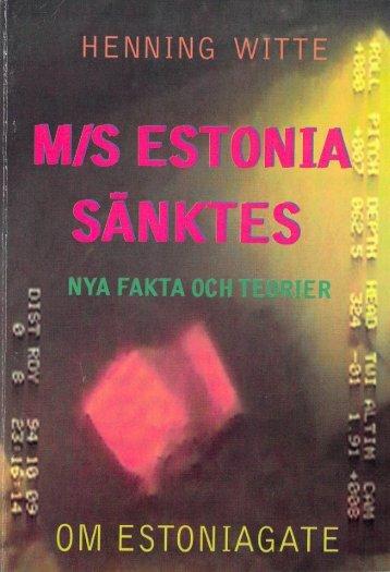 Henning witte-Ms estonia sanktes