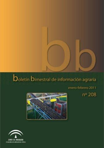 Boletín Núm. 208. Enero-Febrero 2011 - Junta de Andalucía