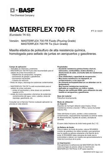 MASTERFLEX 700 FR