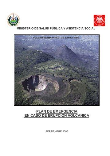 plan de emergencia en caso de erupcion volcanica - CIDBIMENA