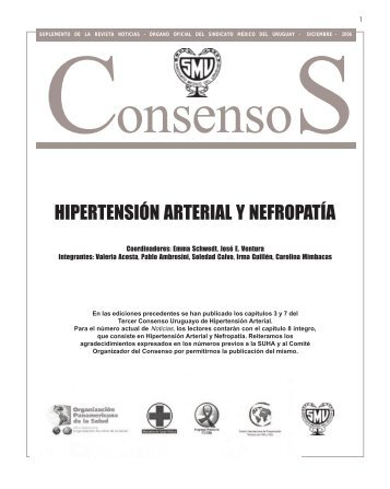 Hipertensión arterial y nefropatía - Sindicato Médico del Uruguay