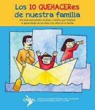 Los 10 QUEHACERes de nuestra familia - Consejos Escolares de ...