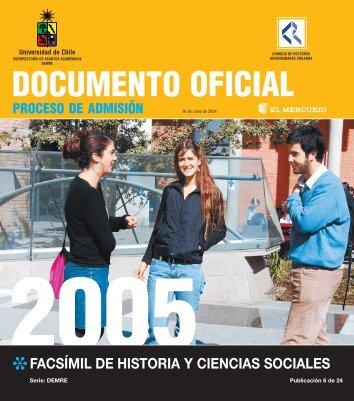 FACSÍMIL DE HISTORIA Y CIENCIAS SOCIALES - Demre