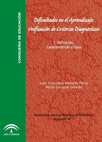 Dificultades en el Aprendizaje: Unificación de Criterios Diagnósticos