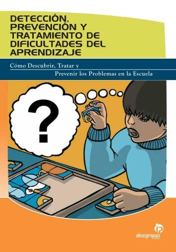 detección, prevención y tratamiento de dificultades del aprendizaje