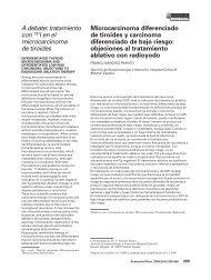 Microcarcinoma diferenciado de tiroides y carcinoma diferenciado ...