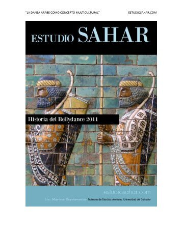 la danza árabe como concepto multicultural - Estudio Sahar