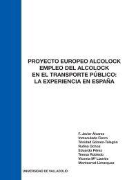 Proyecto Europeo Alcolock - Ministerio de Sanidad y Política Social