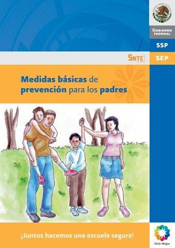 Medidas básicas de prevención para los padres - Conade