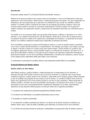 EVOLUCION HISTORICA DE LOS MODELOS ... - Cosmofisica