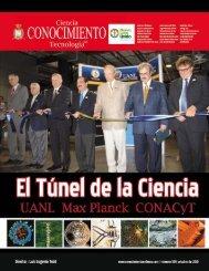 Revista Conocimiento 'El Túnel de la Ciencia' (PDF - science tunnel