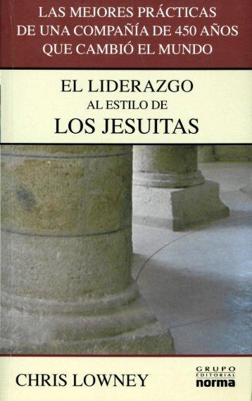 Liderazgo al estilo de los jesuitas