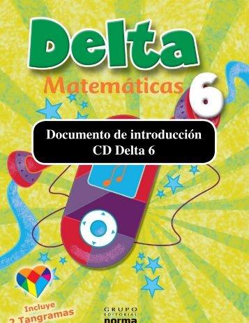 Documento de introducción CD Delta 6 - El Educador