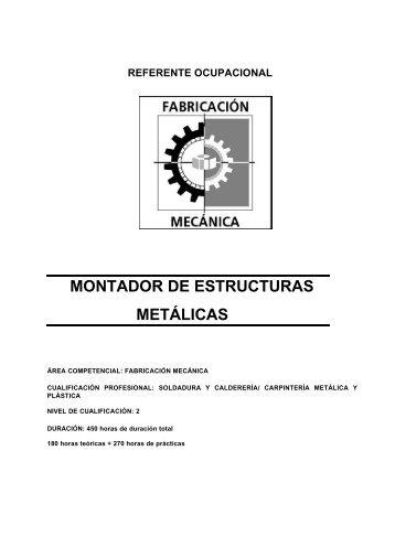 referente ocupacional montador de estructuras metálicas - Lanbide