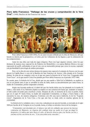 Comentario La Vera Cruz Piero della Francesca - IES JORGE JUAN ...