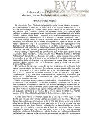 Moriscos, judíos, luteranos y afrancesados - Paseo Virtual por ...