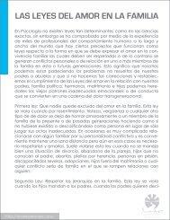 leyes del amor en la familia - Psicólogo Andrés De Anda