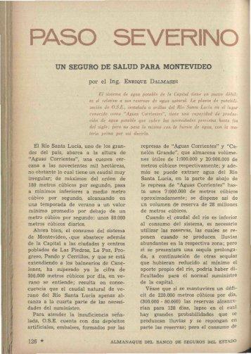 PASO SEVERINO - Banco de Seguros del Estado