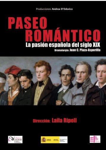 Paseo Romántico - Dossier de prensa - teatroandreadodorico.com