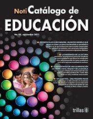 noticatalogo_Educacion_2011.pdf - Editorial Trillas