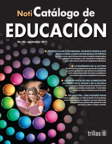 noticatalogo_Educacion_2011.pdf - Editorial Trillas