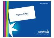 Promo Pass nuevo - Sodexo