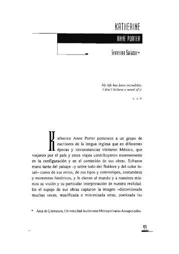 Katherine Anne Porter / Severino Salazar - Si necesitas algún libro ...