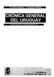 CRÓNICA GENERAL DEL URUGUAY - Fernando Butazzoni