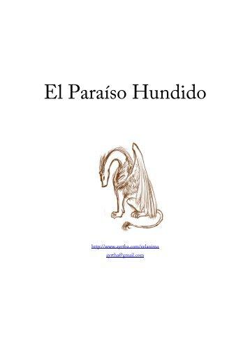 El Paraíso Hundido - Ediciona