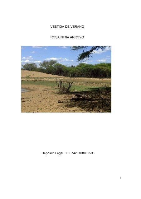 adc111037 VESTIDA DE VERANO ROSA NIRIA ARROYO ... - Saber ULA
