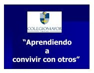 Reunión Delegados de Convivencia - COLEGIO MAYOR