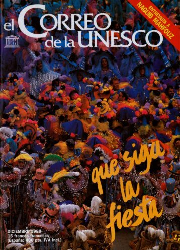 Que siga la fiesta; The UNESCO Courier: a ... - unesdoc - Unesco