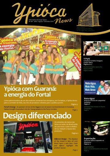 Design diferenciado Ypióca com Guaraná