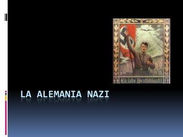 Alemania Nazi - Aprendiendo a aprender
