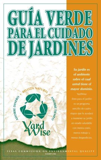 guía verde para el cuidado de jardines - Fort Bend County Municipal ...