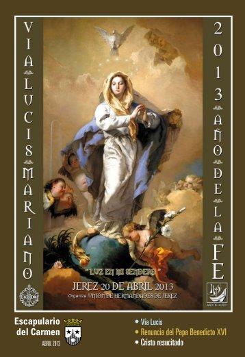 Descargar articulos de la revista Escapulario del Carmen Abril 2013 ...