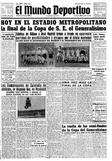 Copa 1943 - Athletictv.es