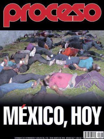 REVISTA PROCESO México ESPECIAL MIGRANTES